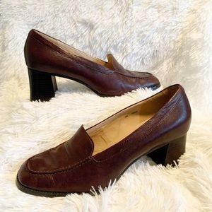 Vintage Maripè Classic 90's Chunky Heel Loafer